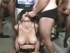 Bukkake, Porno hvězdy
