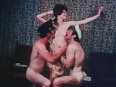 Vintage, Group Sex, Double Penetration, Threesome