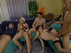 German, Pornstar, Threesome