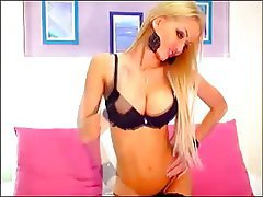 Big Boobs, Blonde, Russian, Webcam
