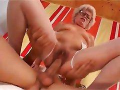 Granny, Hardcore, Stockings