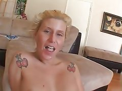 Blonde, Cumshot, Interracial, MILF
