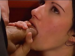 Anal, Brunette, Babe, Blowjob