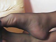 Amateur, Blondine, Fuß Fetisch, MILF