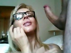 Amatér, Výstřiky, Sperma v obličeji, Orgasmus