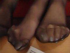 Pantyhose, Foot Fetish, Stockings