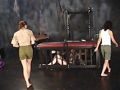 BDSM, Lesbian, Threesome, Brunette