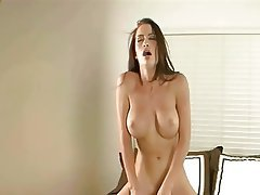 Big Boobs, Bondage, Brunette, Orgasm