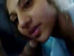 Amatriçe, Fellation, Indienne