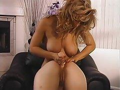 Blonde, Big Boobs, Lesbian, Pornstar