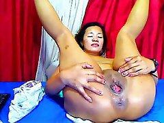 Asian, Masturbation, Webcam