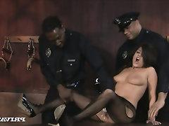 Anal seks, Büyük sik, Abanoz, Ağızdan