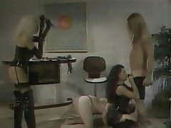 BDSM, Group Sex, Blonde, Brunette