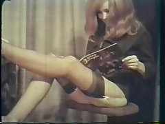 Hairy, Redhead, Stockings, Vintage