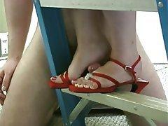 Ejac, Amatriçe, Grosses, Fétichisme des pieds