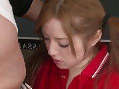 Esmerler, Yüze boşalma, Japonya, Genç