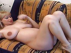 Big Boobs, Blonde, Masturbation