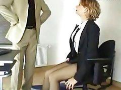 Cumshot, Stockings