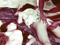 Asian, Group Sex, Interracial, Vintage