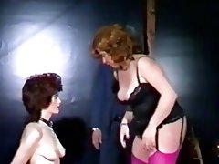 BDSM, Femdom, Redhead, Vintage