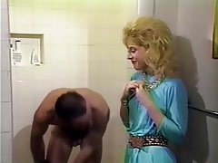 Blonde, Cumshot, Shower, Vintage