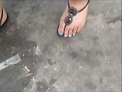 Amatriçe, Fétichisme des pieds