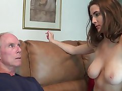 Big Boobs, Handjob, Old and Young
