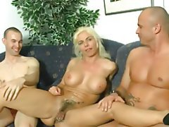 Babe, Blowjob, Big Boobs, Threesome