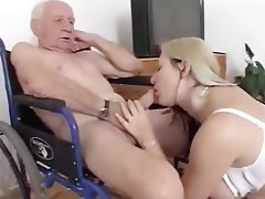 Blonde, Blowjob, Old and Young