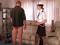 BDSM, Kadin egemenligini, Şaplak atma