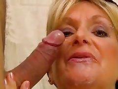 Big Boobs, Blonde, Cumshot, Mature
