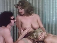 Cunnilingus, Group Sex, Hairy, Stockings