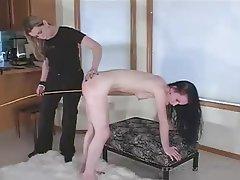 BDSM, Lesbian, Spanking
