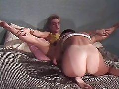 Cunnilingus, Group Sex, Hairy, Lesbian