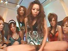 Affrontare Seduta, Donna dominante, Orgia, Sesso di gruppo