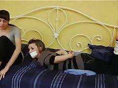 Bondage, Foot Fetish, Lesbian