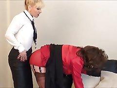 BDSM, Femme dominatrice, Secrétaire, Femmes en bas