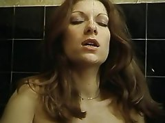 Blowjob, Hairy, Shower, Stockings