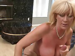 Handjob, MILF, Old and Young
