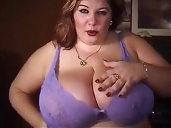 BBW, Big Boobs, Masturbation, Mature