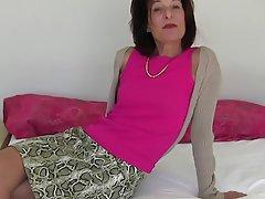 Masturber, Agé, Femmes en bas