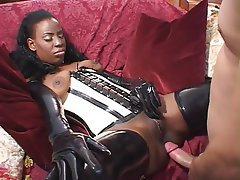 Anal, Interracial, Latex