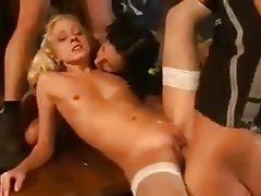 Blowjob, Cumshot, Double Penetration, German