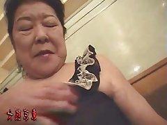 Asiatique, Chinoise, Grandmere, Japonaise