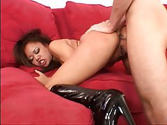 Blowjob, Facial, Brunette, Asian