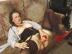 Grands seins, Ejac, Masturber, MILF