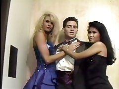 Blowjob, Creampie, Threesome, Asian