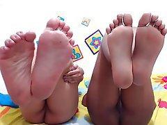 Amatriçe, Fétichisme des pieds, À la première personne, Webcam