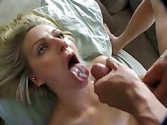 Anal seks, Çifte penetrasyonu, Yüze boşalma, Sıska kız