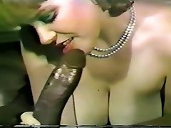 Blowjob, Cumshot, Interracial, Vintage